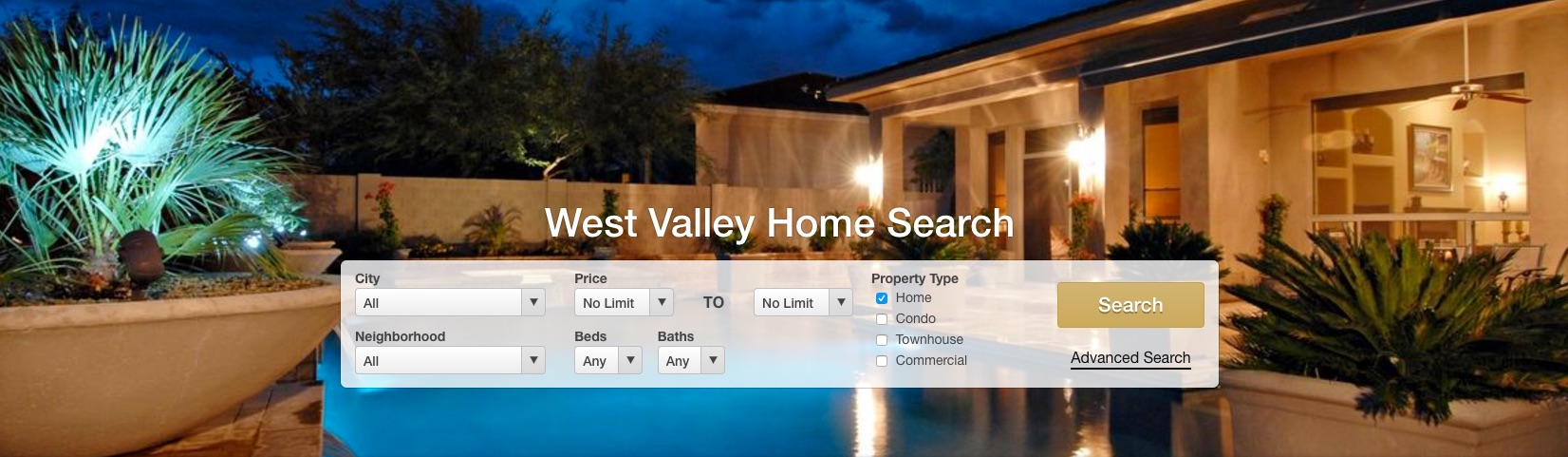 West Valley Home Search