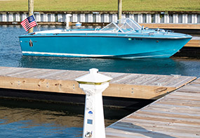 Private Deepwater Boat Slips