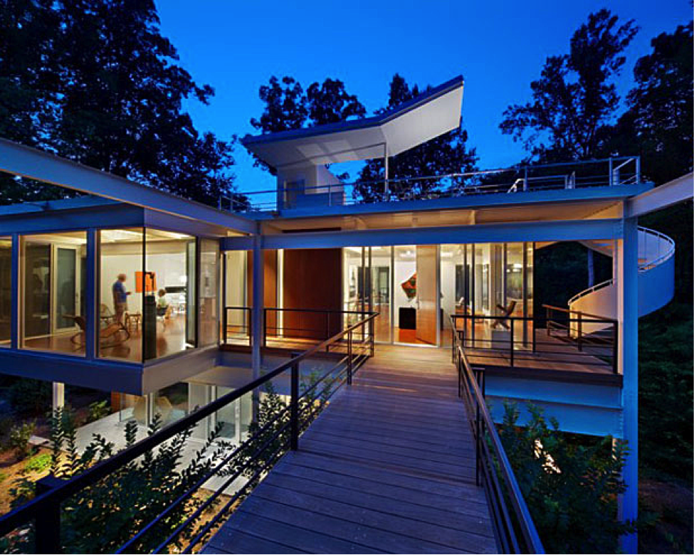 Modernist homes for sale in the triangle for Contemporary homes images