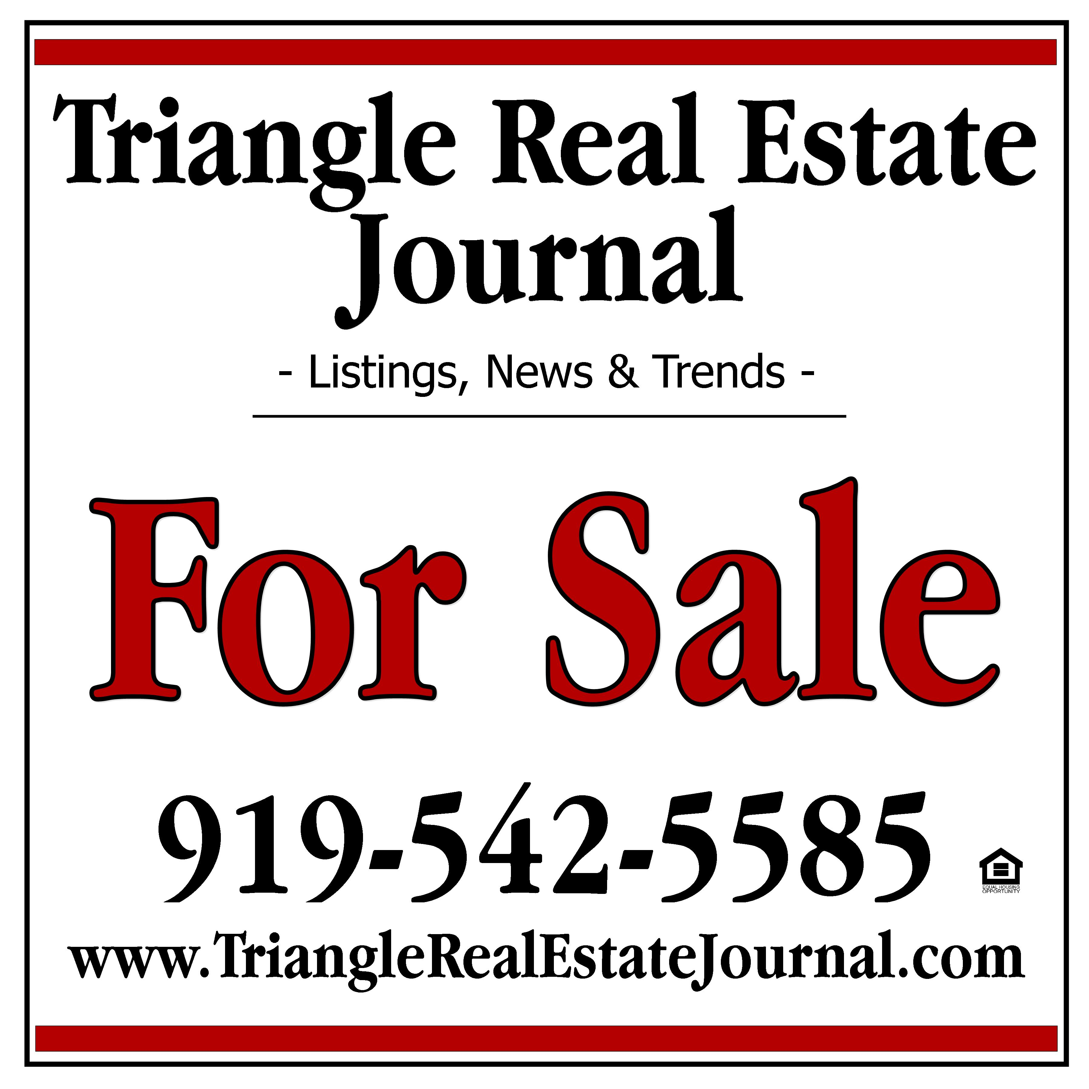 triangle real estate journal - raleigh real estate