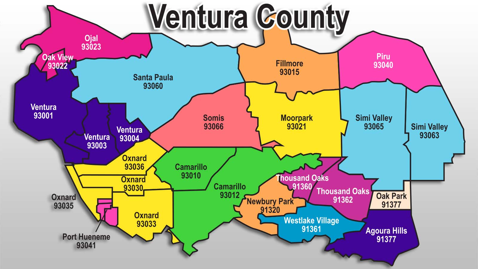 Ventura County California Property Search
