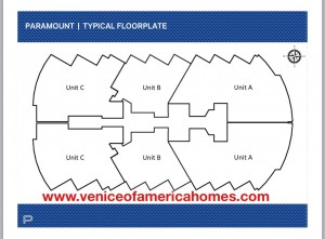 Paramount Fort Lauderdale Beach Floor Plan