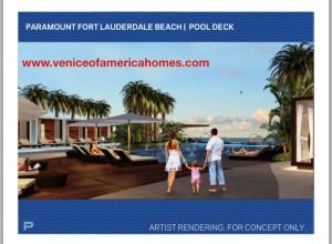Paramount Fort Lauderdale Beach Pool Deck