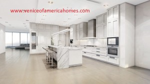 Privage Fort Lauderdale Kitchen Rendering