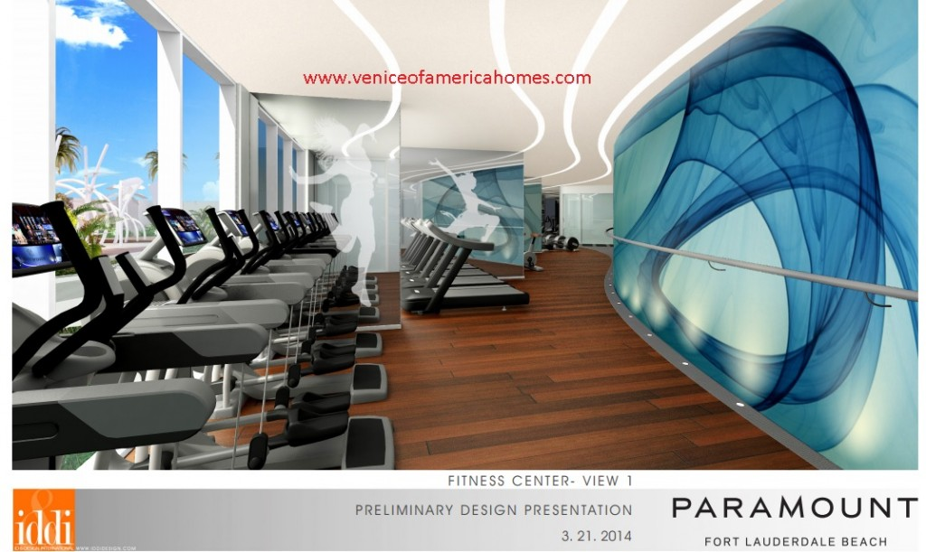 Paramount Fort Lauderdale Beach gym