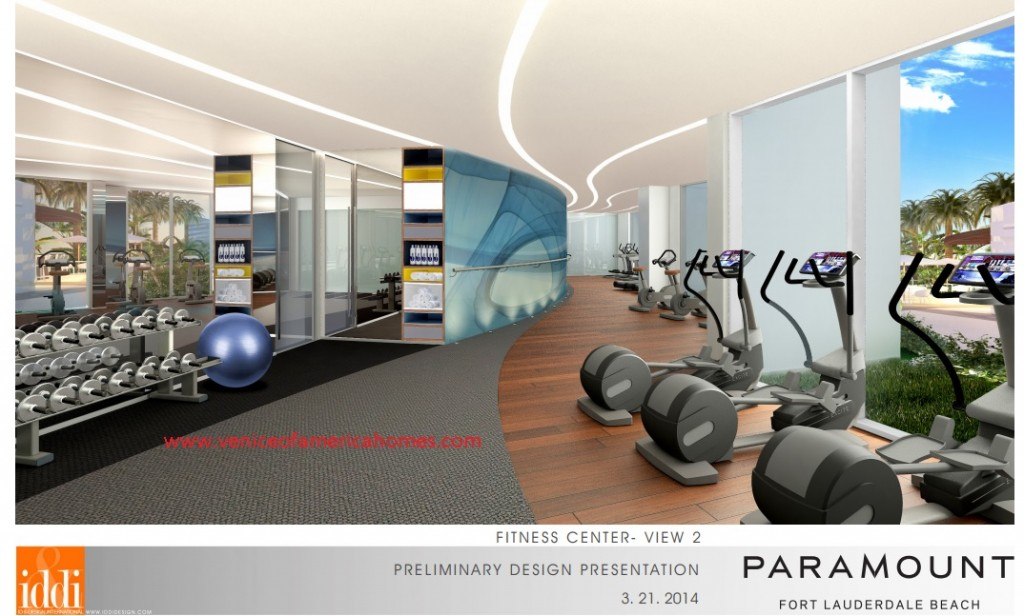 Paramount Fort Lauderdale Beach exercise room