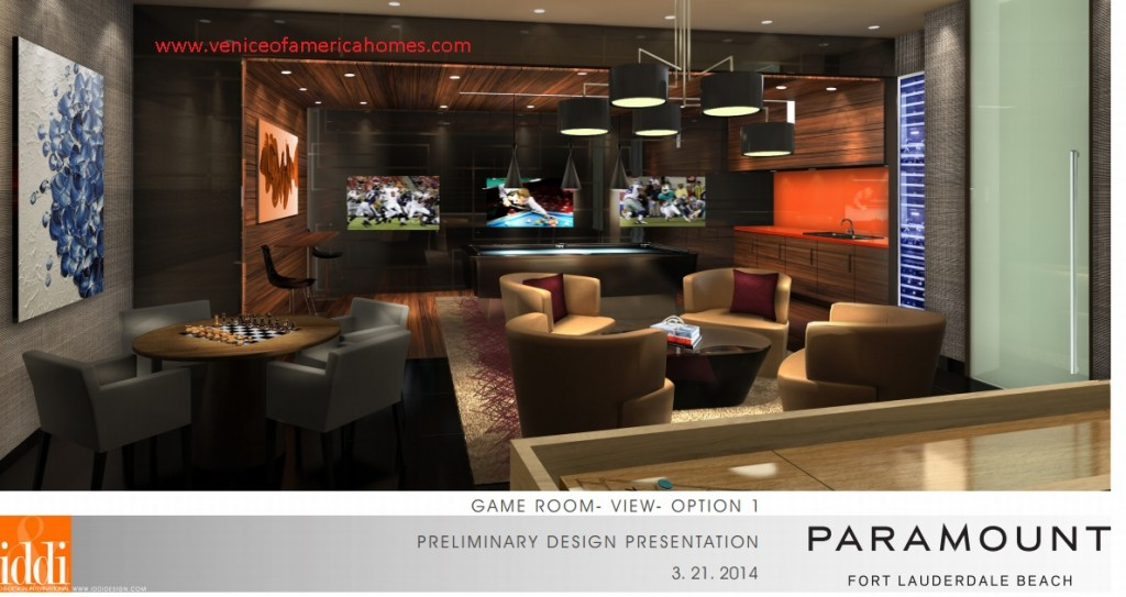Paramount Fort Lauderdale Common Room