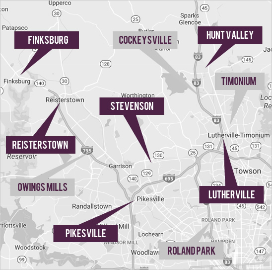 View Baltimore Real Estate By Map