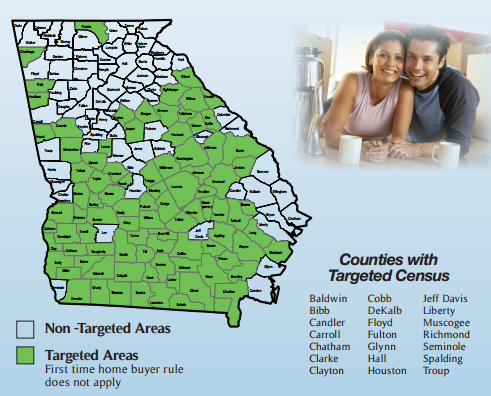 Georgia Dream Targeted Counties