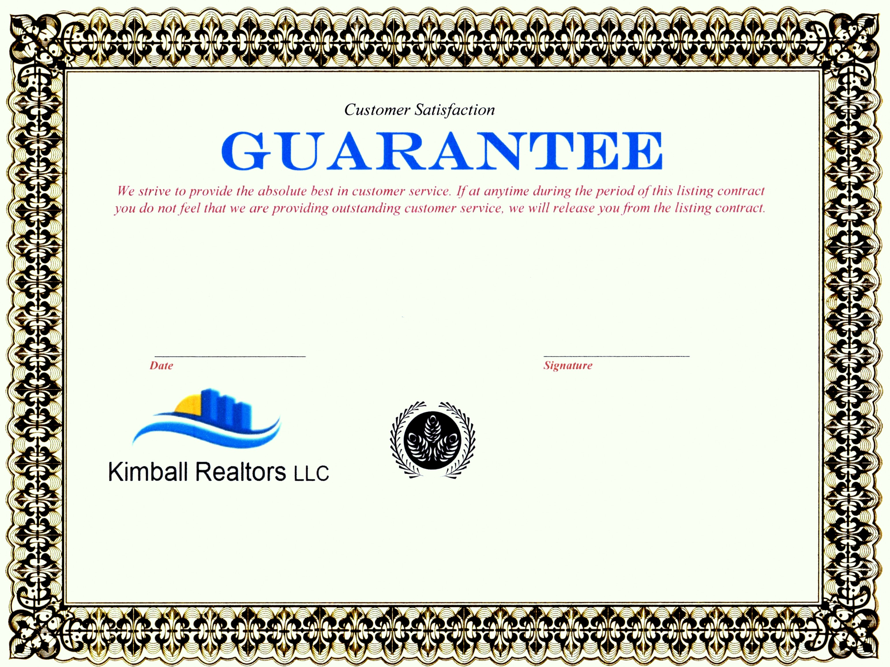 Read Our Listing Guarantee
