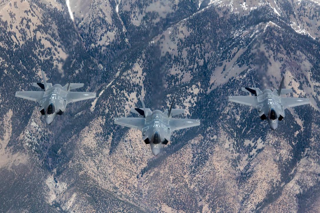F-35A Lightning IIs