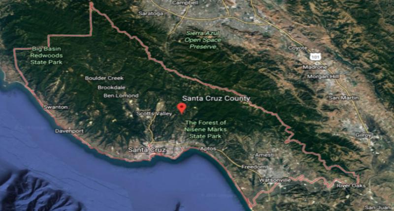 Santa Cruz County Aerial
