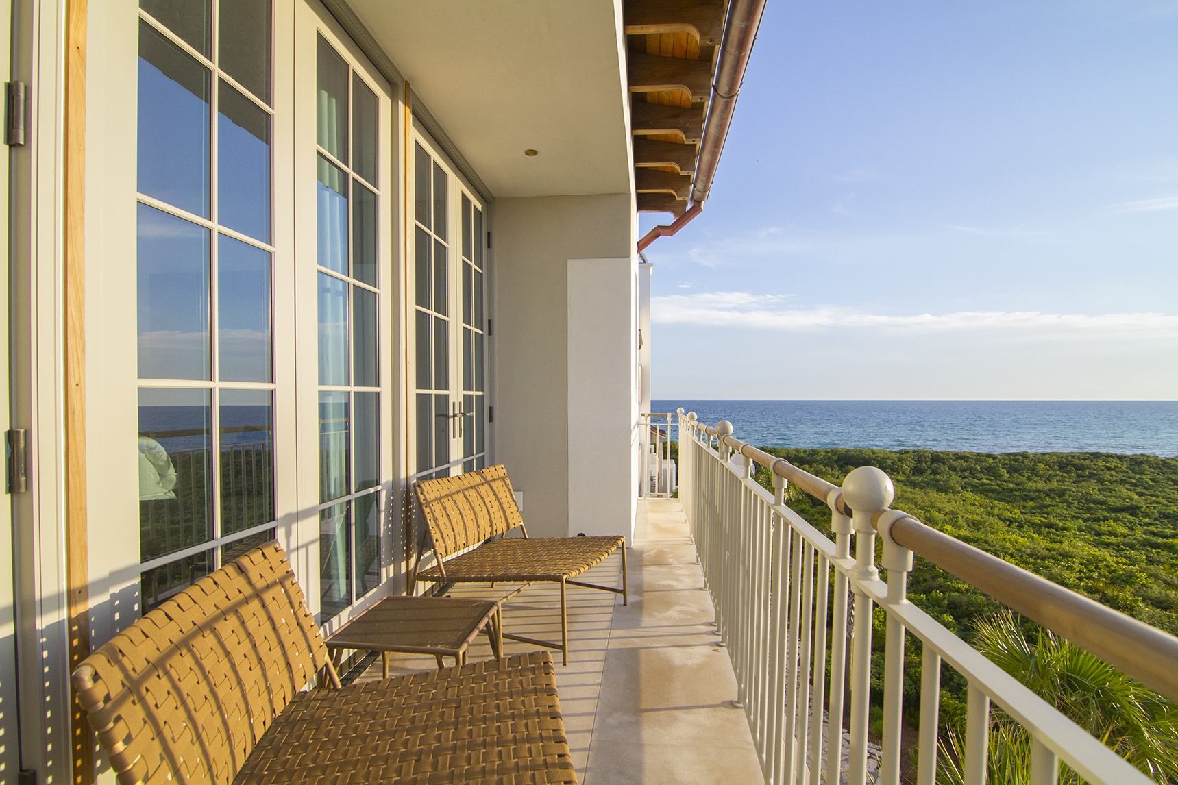 View of the gulf from Sea Garden in Alys Beach