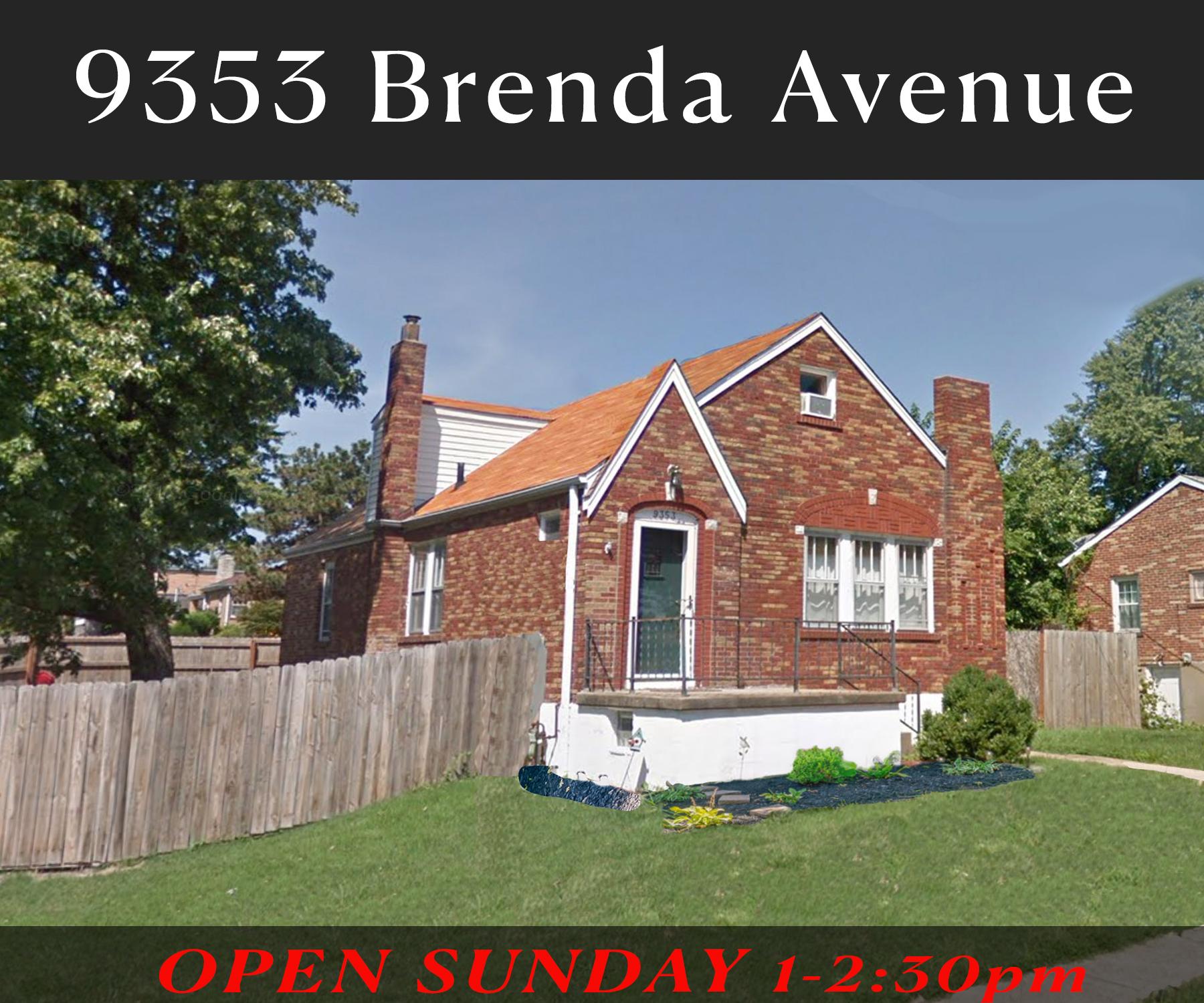 9353 Brenda Ave.   Affton, MO. 63123 FOR SALE,