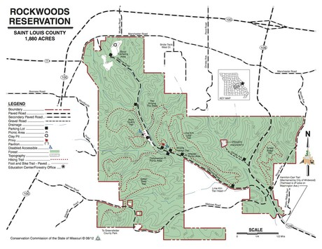 map rockwoods reservation