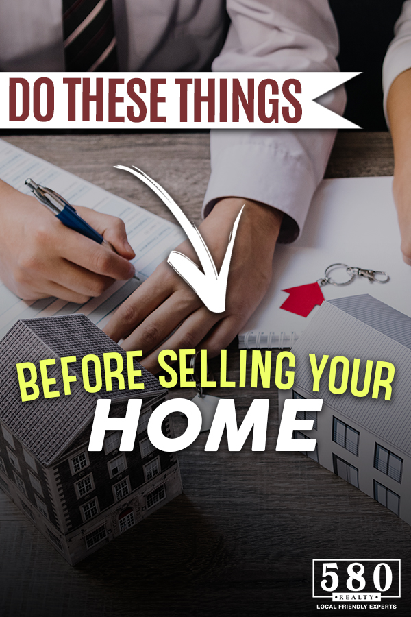 Do these things before selling your home