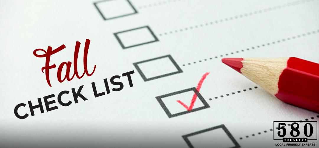 Fall Check List
