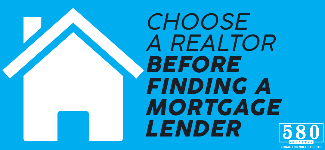 Choose a Realtor Before Finding a Mortgage Lender