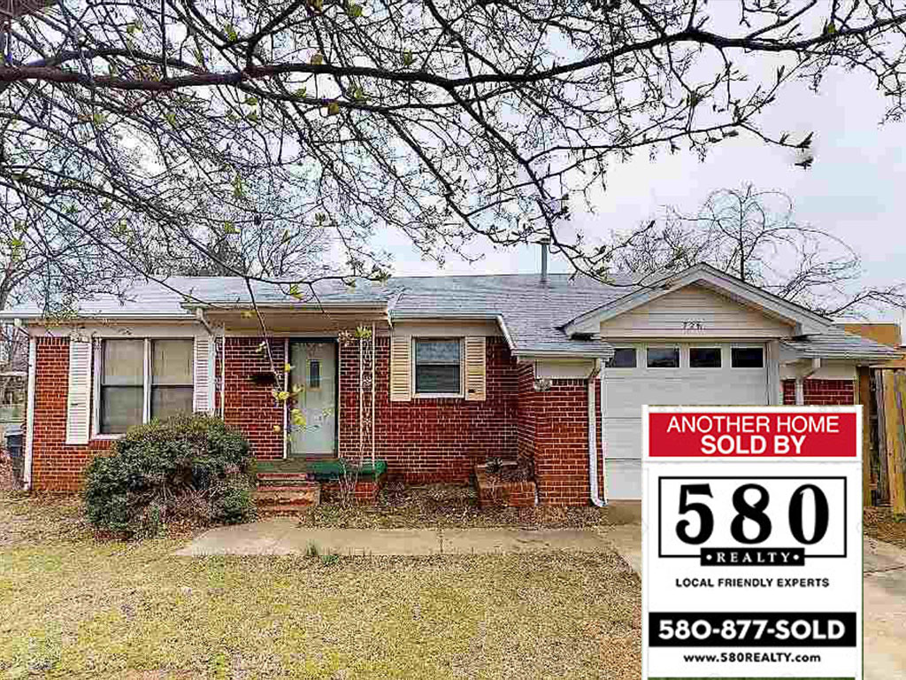 SOLD - 726 Campbell St Ardmore OK 73401