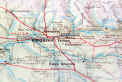 Phoenix Interactive Map Search