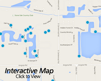 Interactive Map of Holland Ohio Area Homes for Sale