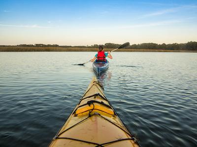 Kayak All Over Near Daniel Island Homes