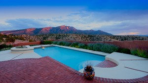 Placitas Luxury Sunset View