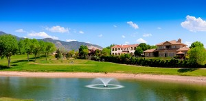 Golf Course View of Tanoan Luxury Home