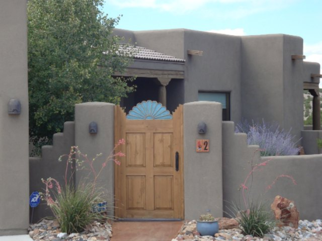 Entryway of Placitas House