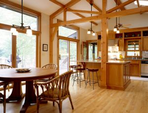 oak is the most popular species of hardwood flooring