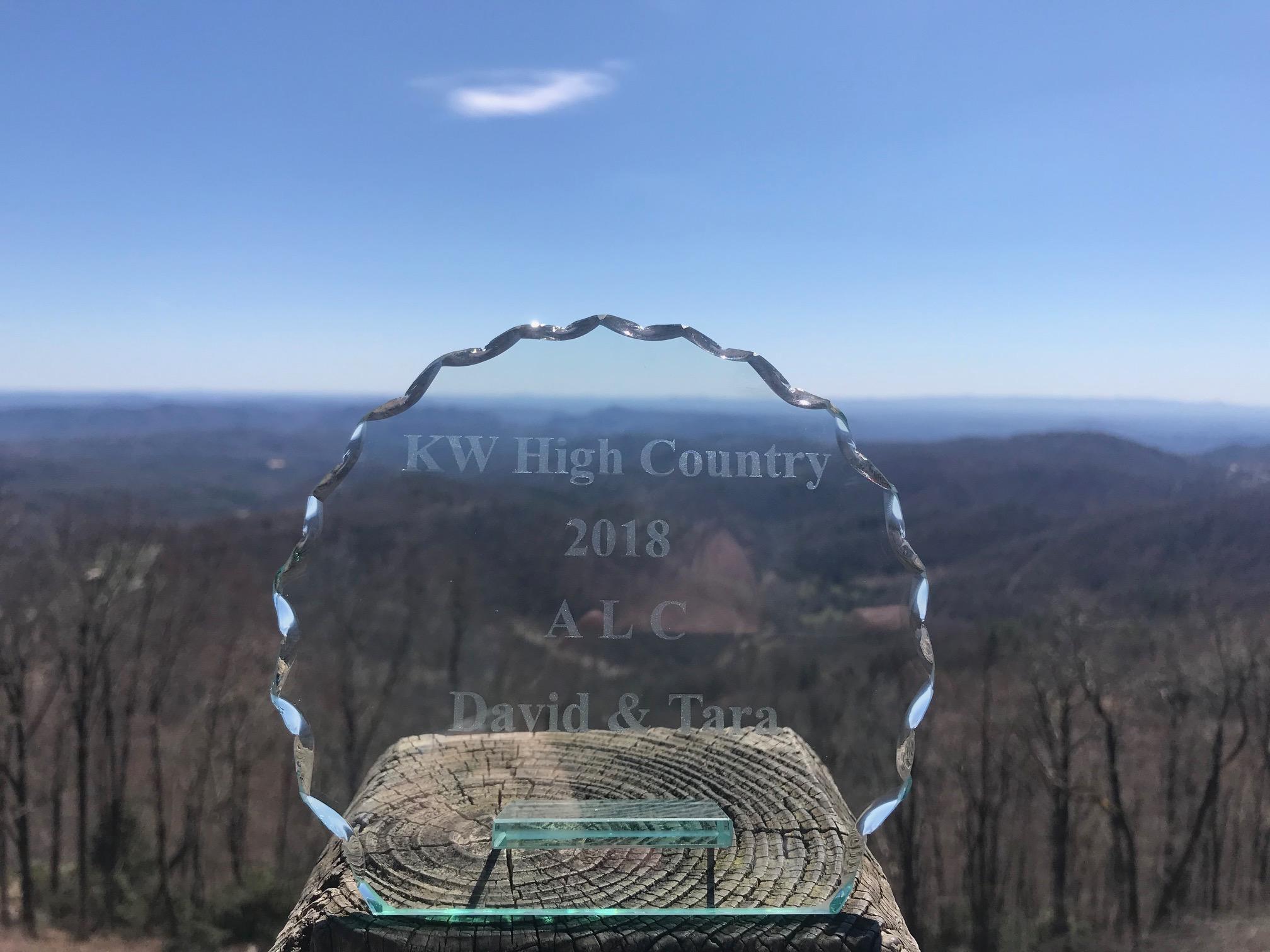 Boone NC Realtors award