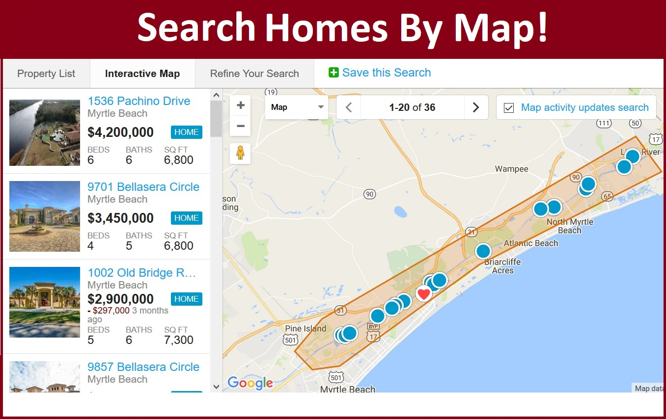 View Homes For Sale On An Interactive Map