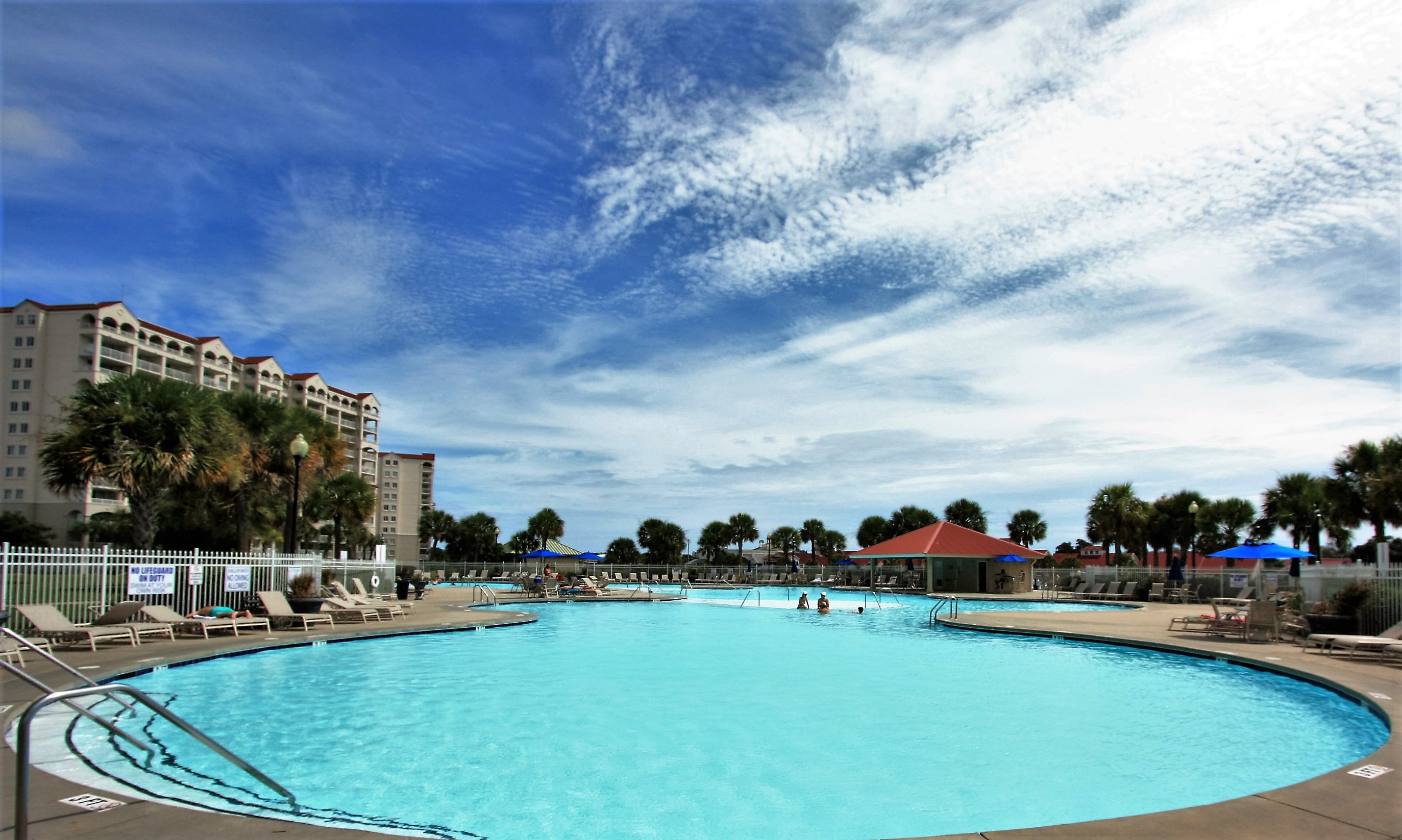 Barefoot Resort Saltwater Pool Area