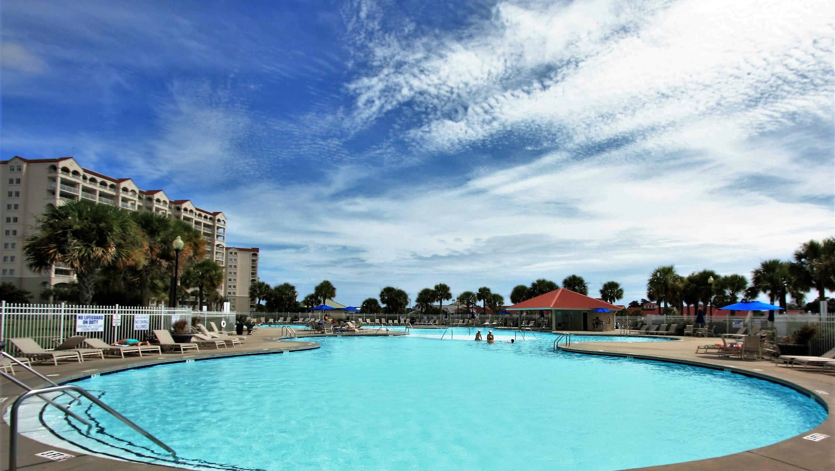 Barefoot Resort Salt Water Pool Area