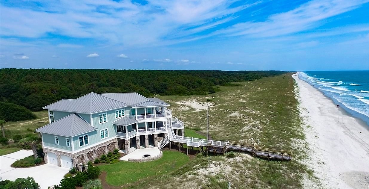 Litchfield and Pawleys Island Oceanfront Homes For Sale