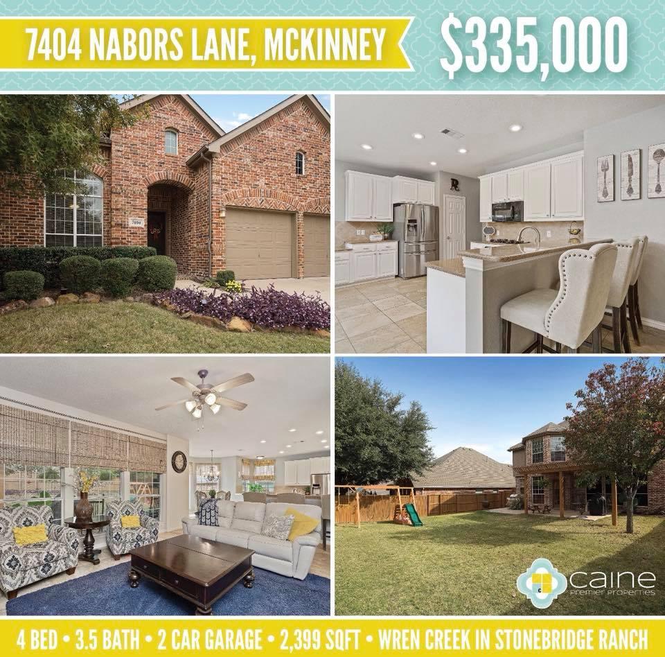 New Listing McKinney Texas