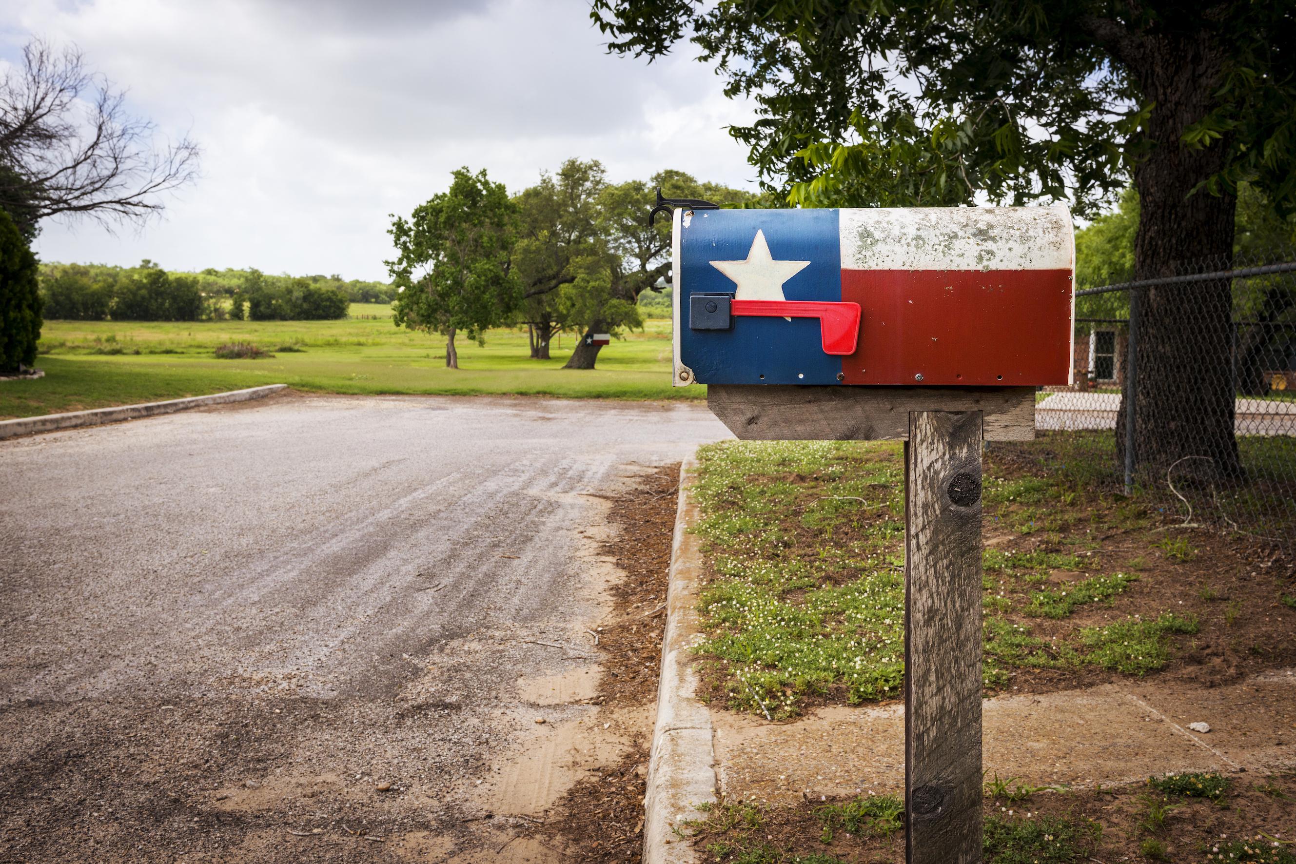 Texas Home Mailbox
