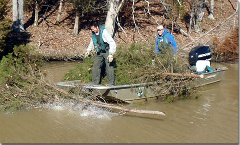 Re purpose your christmas tree for Kentucky fish and wildlife phone number