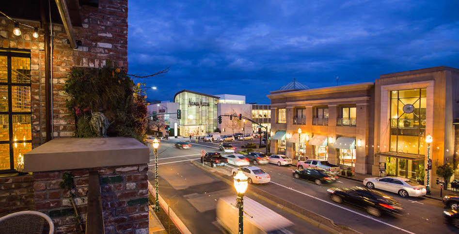 Walnut Creek Downtown Night