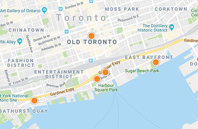 toronto home search map