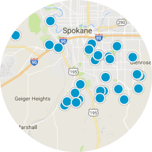 Spokane Valley Real Estate Map Search