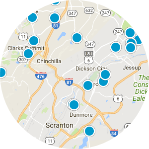 Dunmore School District Real Estate Map Search