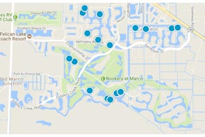 Fiddlers Creek Resort Homes Map Search