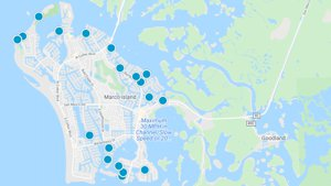 Marco Island Waterfront Homes Map Search