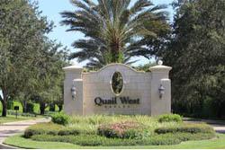 Naples FL Golf Resort Quail West Homes
