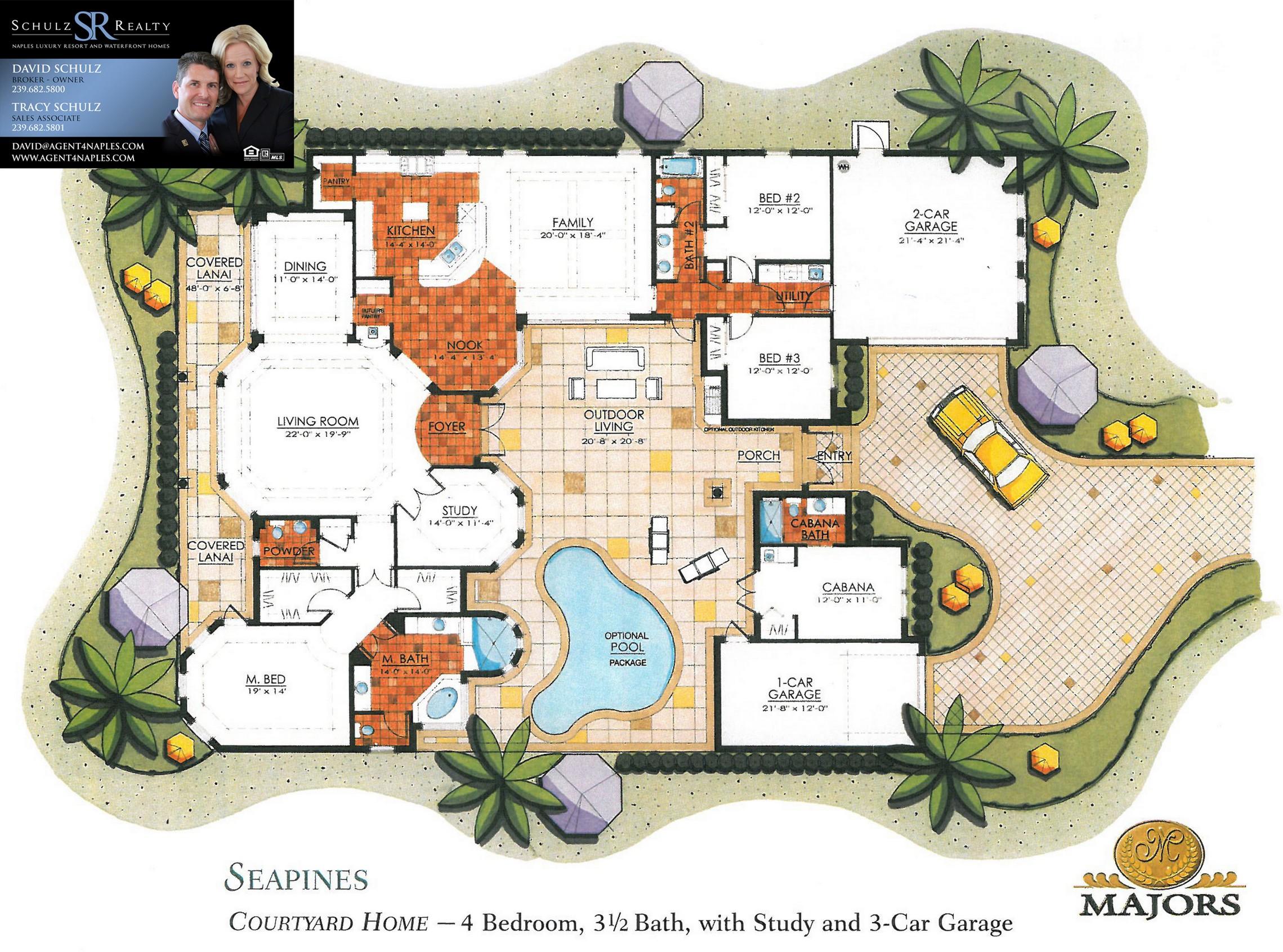 Majors Floorplans