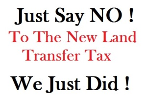 land transfer tax changes