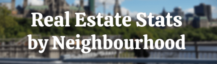 real estate stats by neighbourhood