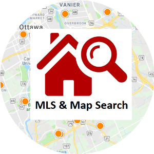 MLS and Real Estate Map Search
