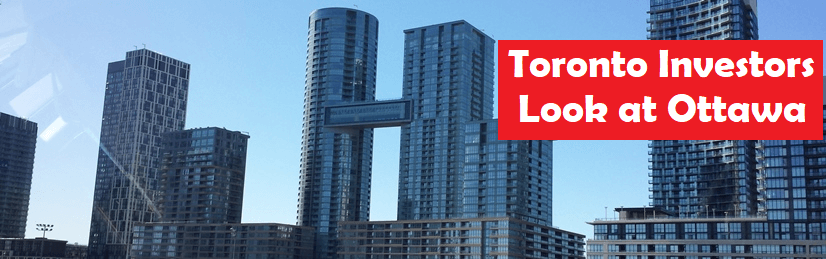 Toronto Investors choosing ottawa